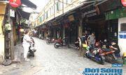 Hà Nội: Phố phường vắng lặng, nhiều cửa hàng, quán xá tạm đóng cửa trong mùa dịch Covid-19