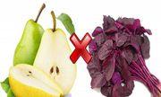Những thực phẩm cấm kỵ ăn chung với rau dền, thèm mấy cũng đừng đụng đũa