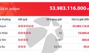 Kết quả xổ số Vietlott hôm nay 13/3/2020: 22 khách tuột tay giải Jackpot hơn 53 tỷ đồng