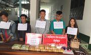 Kon Tum: Mật phục bắt giữ 5 người Lào vận chuyển 60.000 viên ma túy cùng súng, đạn