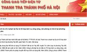 Kết luận thanh tra liên quan đến Phó Chủ tịch TP.Hà Nội bất ngờ bị gỡ