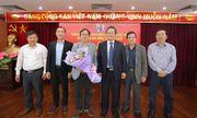 Nhà báo Nguyễn Tiến Thanh trúng cử Bí thư chi bộ báo ĐS&PL