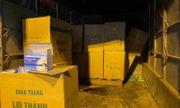 Bắt giữ chiếc xe tải chở hơn 50.000 khẩu trang y tế lậu đi tiêu thụ trong đêm