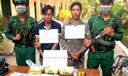 Bắt giữ nhóm đối tượng mang theo súng ngắn, vận chuyển ma túy từ Lào về Việt Nam