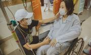 Hàng trăm người hiến máu giúp cô giáo bị ung thư sinh con bình an