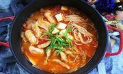 Chán cơm, mẹ đảm học người Hàn nấu miến ngon ngất ngây, ăn hoài không sợ tăng cân