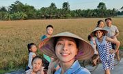 Muôn kiểu sao Việt về quê tránh dịch: Đả nữ Ngô Thanh Vân đi chăn vịt, H'Hen Niê ở nhà trông cháu