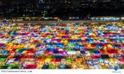 Video: Khu chợ đêm lớn nhất tại Thái Lan bỗng hoang lạnh vì đại dịch Covid-19
