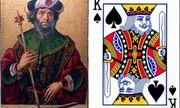 Giải mã bất ngờ về vị vua huyền thoại trên lá bài K bích: Chàng trai chăn cừu đánh bại gã khổng lồ Goliath