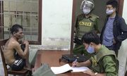 Quảng Ngãi: Khống chế người đàn ông tưới xăng, đòi đốt bệnh viện