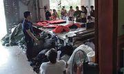 Hà Nội: Truy tố chủ cơ sở sản xuất quần áo giả thương hiệu nổi tiếng