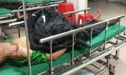 Nam bệnh nhân nhập viện cấp cứu cùng đoạn ruột đứt rời