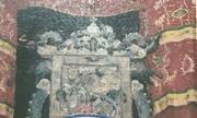 Truy tìm bức tranh cổ nặng 50kg bị kẻ gian đánh cắp khỏi đình thần Linh Tây