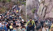Vừa nới lỏng lệnh phong tỏa, các điểm du lịch ở Trung Quốc chật kín người