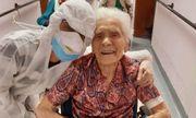 Cụ bà 103 tuổi chiến thắng Covid-19 ở Italy: Bí quyết là niềm tin và can đảm
