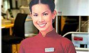 Mỹ nhân từng là hình ảnh đại diện Vietnam Airlines giờ ra sao?