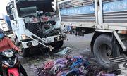 Xe tải gây tai nạn liên hoàn, 3 tài xế bị thương nặng