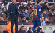 HLV Barcelona bất ngờ nhận định về tương lai của Messi