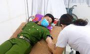 Thiếu úy công an tại Hà Tĩnh hiến máu cứu bệnh nhân trong đêm