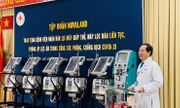 Trao tặng trang thiết bị Y tế cấp thiết – Novaland đồng hành cùng việc tăng tốc trong cuộc đua đẩy lùi dịch bệnh Covid-19