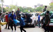 2 tấn gạo đến với những hộ nghèo bị thiệt hại bởi mưa đá ở Sơn La