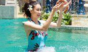 Hoa hậu Hà Kiều Anh diện bikini khoe thân hình nóng bỏng ở tuổi U50