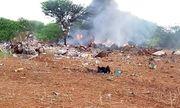 Rơi máy bay chở đồ y tế viện trợ, toàn bộ 6 người thiệt mạng