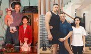 """Chụp ảnh đúng tư thế cách đây 24 năm, cậu con trai chỉ đứng thôi cũng đủ làm bố """"vẹo sườn"""""""