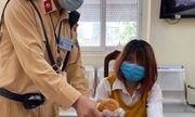 CSGT Hà Nội kịp thời cứu cô gái định nhảy cầu Chương Dương tự tử