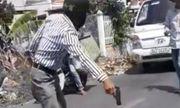 Phạt 5 triệu đồng người đàn ông rút súng đồ chơi dọa tài xế xe tải sau va chạm giao thông