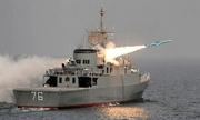 Iran công bố video tàu hải quân bị tên lửa bắn nhầm trong tập trận