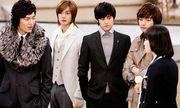 """Số phận bộ tứ quyền lực trong """"Vườn sao băng"""": Lee Min Ho một màu, Kim Hyun Joong mất hút"""