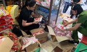 Hà Nội: Tạm giữ 6 đối tượng liên quan đến vụ phát hiện 1,4 tấn mỳ chính giả
