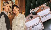Erik và Đức Phúc sành điệu với túi xách nữ hiệu Burberry giá ngàn đô