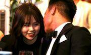 Huỳnh Anh diện đồ ton-sur-ton, xuất hiện rạng rỡ cùng Quang Hải tại gala Quả bóng vàng 2019
