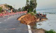 An Giang công bố tình trạng sạt lở nghiêm trọng Quốc lộ 91