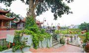 Hà Nội: Bờ sông tại khu di tích đền Ba Voi sạt lở nghiêm trọng
