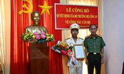 Bộ Công an điều động, bổ nhiệm 8 chỉ huy thuộc Công an Tiền Giang