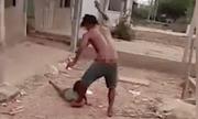 Vụ clip cha trói con gái 6 tuổi vào cột, đánh dã man: Nạn nhân thường xuyên bị đánh