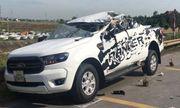 Hai xe ô tô đấu đầu, 2 người tử vong tại chỗ