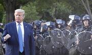 Tổng thống Trump rút lực lượng Vệ binh quốc gia khỏi thủ đô Washington