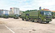 Trung Quốc tặng hơn 200 xe tải quân sự giúp Campuchia củng cố an ninh quốc phòng