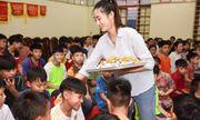 Lương Thuỳ Linh trở lại Cao Bằng khánh thành con đường xây ước mơ