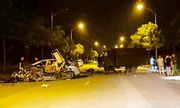 Tin tai nạn giao thông mới nhất ngày 17/6/2020: Hé lộ danh tính 2 xe biển xanh tông nhau kinh hoàng
