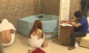 Đột kích cơ sở massage Ngọc Trinh, bắt quả tang 3 đôi nam nữ mua bán dâm