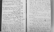 """Hé lộ bí mật cuốn nhật ký của một người thế hệ """"xếp bút nghiên lên đường"""""""