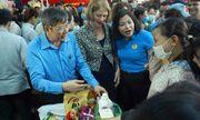 New Zealand mở siêu thị 0 đồng hỗ trợ cho các công nhân ở Hà Nội
