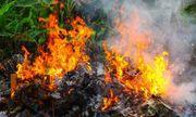 Đốt rác trong vườn nhà, người phụ nữ 67 tuổi chết cháy