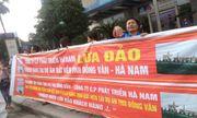 """Cư dân TNR Stars Đồng Văn tiếp tục """"vây"""" trụ sở TNR Holdings đòi quyền lợi"""