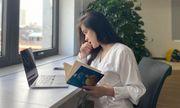 Nữ sinh gây sốt với ảnh chụp lén trong thư viện, nhan sắc đời thường còn